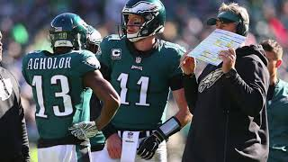 Dianna Russini with perspective on Eagles Locker Room heading into matchup with Saints