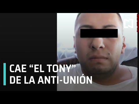 """Detienen a """"El Tony"""" líder de la Fuerza Anti Unión Tepito - En Punto"""