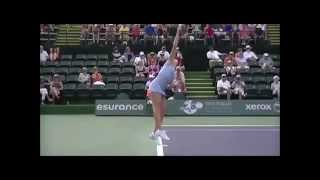Camila Giorgi 5x slowmo(BNP Paribas, Indian Wells 2014)
