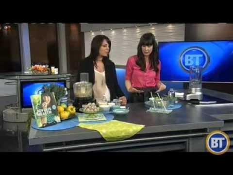 Joy visits Breakfast Television Calgary