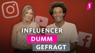 Influencer - Das ist doch kein richtiger Beruf! | 1LIVE Dumm Gefragt