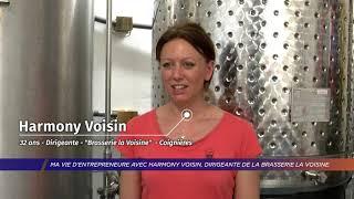 "Yvelines | Ma vie d'entrepreneure avec Harmony Voisin, dirigeante de la ""Brasserie la Voisine"""