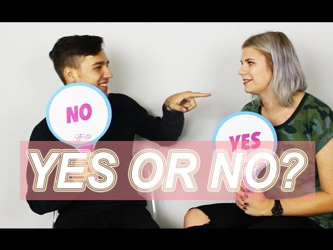 YES OR NO CHALLENGE W/ JACOB WHITESIDES