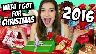 WHAT I GOT FOR CHRISTMAS 2016! | Christmas Gifts Haul!