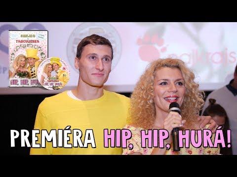 Smejko a Tanculienka - Hip, Hip, Hurá! Premiéra v kine