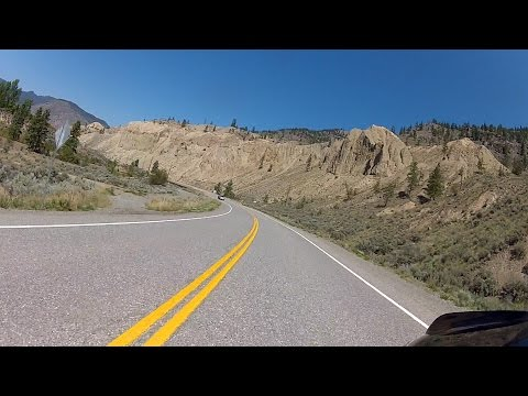 British Columbia Motorcycle Ride: Merritt to Spences Bridge
