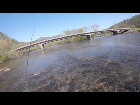 #6 -  Fishing The Hiwassee River TN - Fishing The Top 100 Trout Streams In America