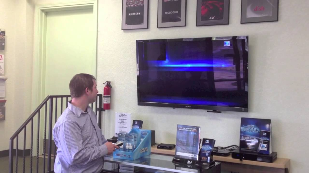 How To Program your DirecTV Remote to your TV
