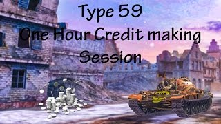 Type 59 - 1 Hour Credit making session