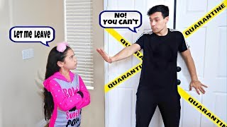 WE'RE OFFICIALLY ON LOCKDOWN!! | Jancy Family
