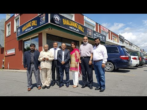 BHAIJAANZ GRILL OPENING CEREMONY  IN  MISSISSAUGA  PART 2 OF 3.
