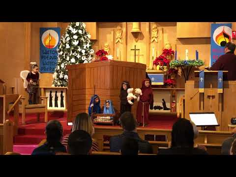 Grace Lutheran Preschool Christmas program 2019