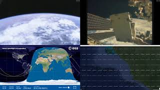 African Coastlines - NASA/ESA ISS LIVE Space Station With Map - 211 - 2018-10-16