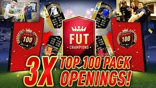 3x TOP 100 FUT CHAMPS WEEKLY REWARDS w/ SPENCER FC!! 33 INFORMS IN ULTIMATE TOTW PACK!