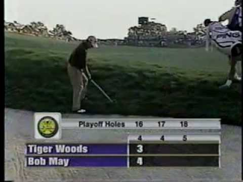 Bob May vs. Tiger Woods - 2000 PGA Championship Playoff - Part 1