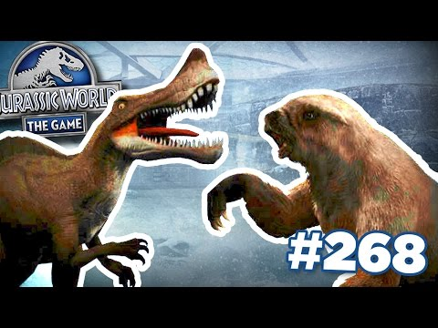 DINOSAURS VS ICE AGE BEASTS! || Jurassic World - The Game - Ep 268 HD
