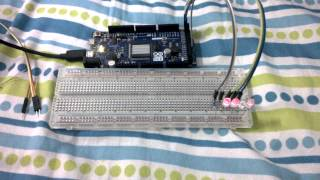arduino controlled binary switch for digital Circuit Lab.