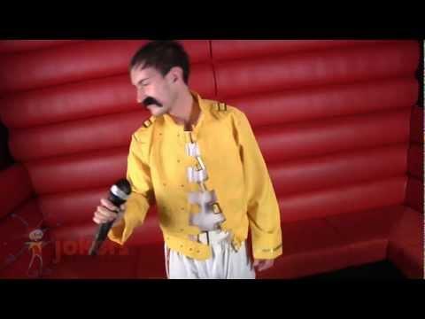Yellow Rock Star Costume (ref: 62489)