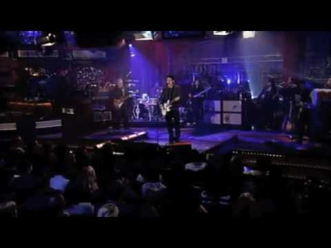 John Mayer - Live on Letterman[11/19/09] - 1. Heartbreak Warfare