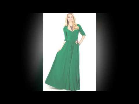 Зеленое платье со шлейфом для куклы Барби - YouTube