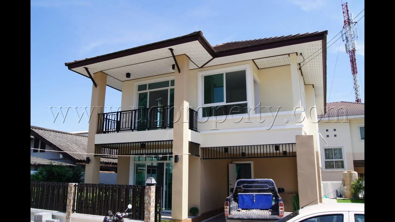 High end luxury two storey house for sale in udon thani for 2 storey house for sale