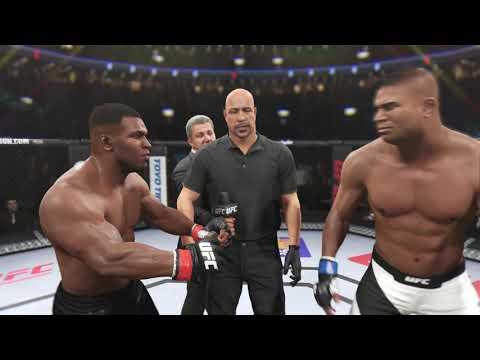 【泰森挑战UFC】锤子不和泰森碰拳套,后果很严重……巅峰泰森VS锤子 UFC2 电脑VS电脑