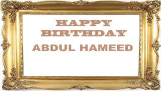 AbdulHameed   Birthday Postcards & Postales - Happy Birthday