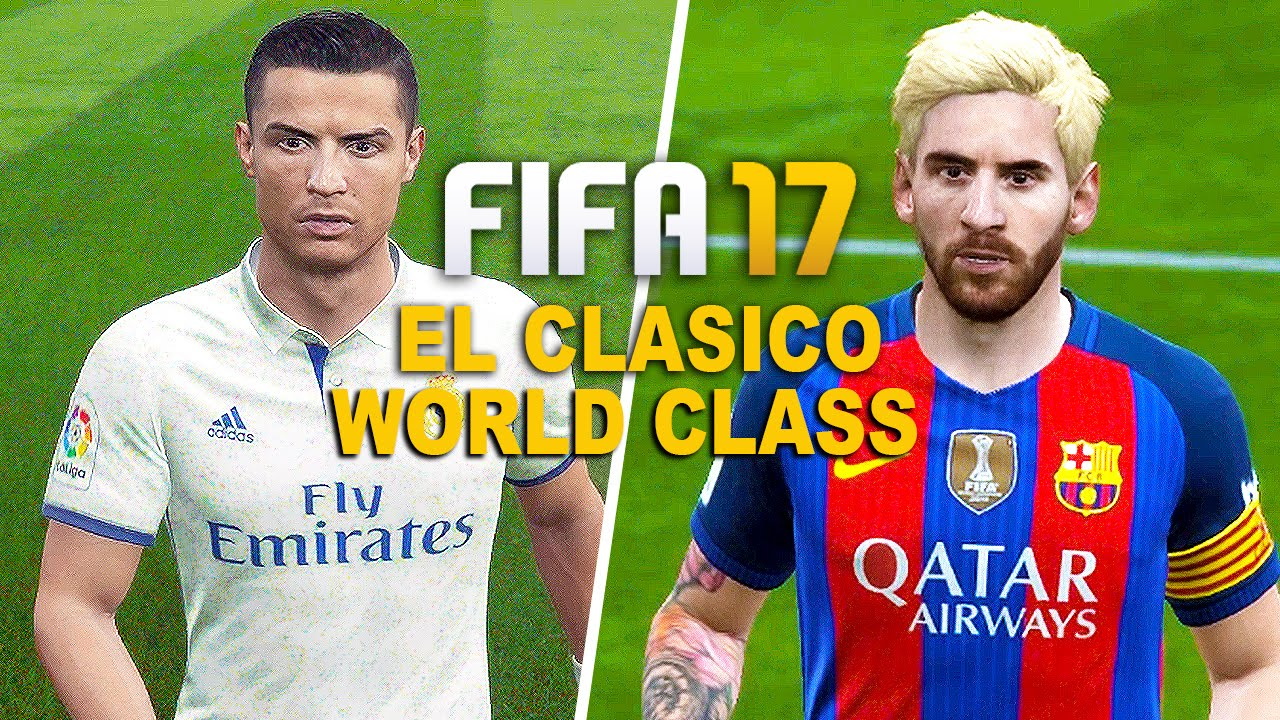Fifa 17 gameplay barcelona vs real madrid 1080p hd 60fps el fifa 17 gameplay barcelona vs real madrid 1080p hd 60fps el clasico world class mode youtube voltagebd Image collections