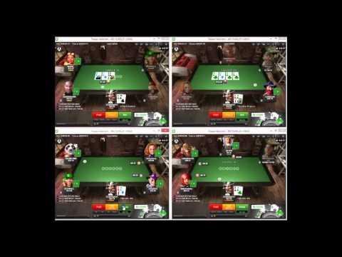 Cash Poker Strategy - Crushing Unibet 25nl Part 1