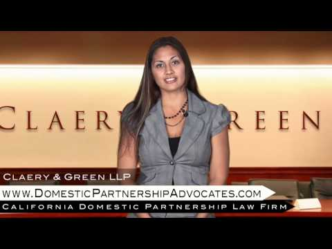 California Legal Services For Domestic Partnerships