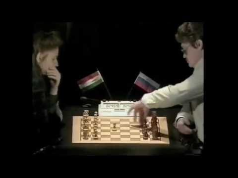Judit Polgar vs. Vladimir Epishin with commentary of Daniel King
