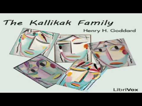 Kallikak Family | Henry H. Goddard | Psychology | Speaking Book | English | 1/2