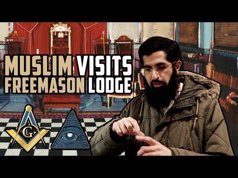 MUSLIM VISITS FREEMASON LODGE IN LONDON