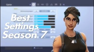 Best Fortnite Console Settings/Sensitivity For Season 7! (Ps4 & Xbox)