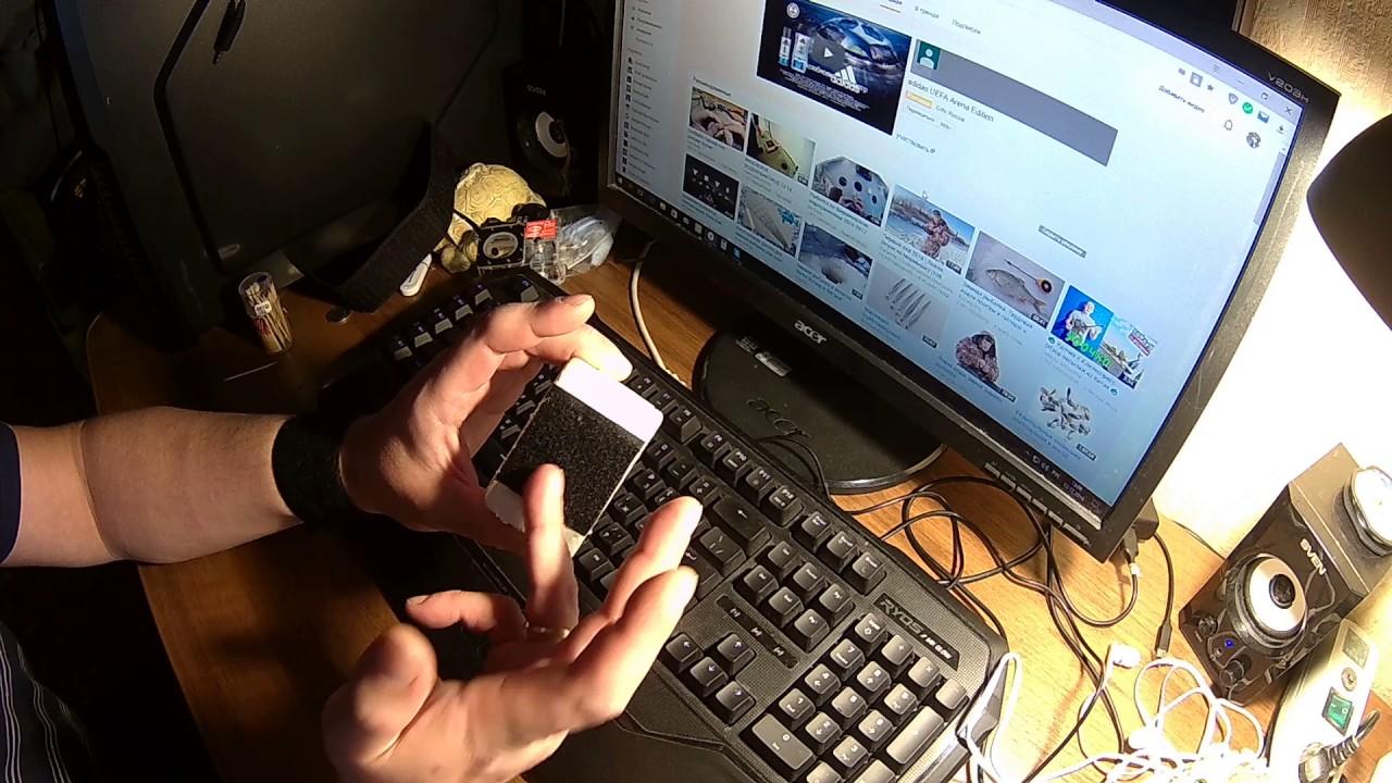 Крепление телефона на руку своими руками