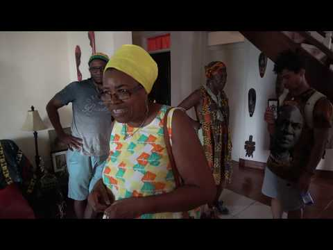 Inside Earna House in Prampram Ghana - May 2018 Journey of a Lifetime