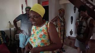 Inside Earna House in Prampram Ghana - May 2018 Journey of a Lifetime