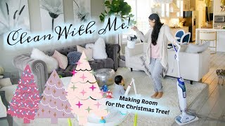 Clean With Me - Making Room For Christmas Decor! MissLizHeart
