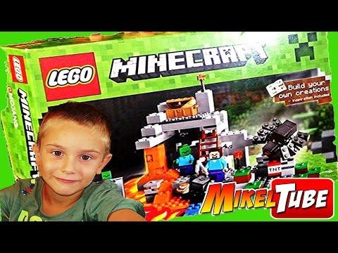 Minecraft La Cueva en Español  Primer video de MikelTube Video #01#