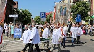 Bo�e Cia�o w parafii pw. Nawiedzenia NMP w Ostro��ce (fara)