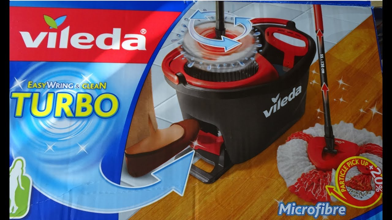 Vileda Easy Wring Clean Turbo Mop Obrotowy Youtube