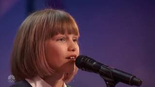 The Next Taylor Swift - Grace VanderWaal Full First Audition - America's Got Talent 2016