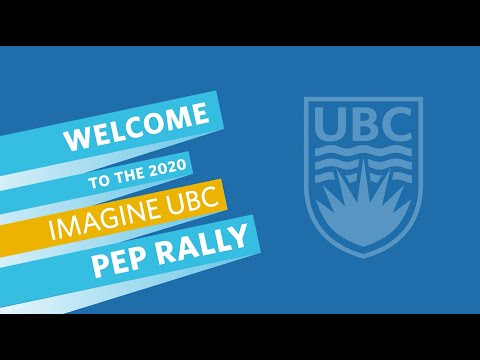 2020 Imagine UBC Pep Rally