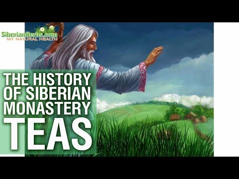🌿► The history of Siberian Monastery Herbal Tea and Herbalism --- Natural remedy