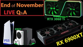 AMD RX 6900XT, New Navi 22 Info, RTX Ti Ampere Cards, PS5 & XBOX Launch | November Loose Ends