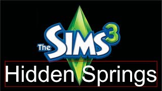 Crack  Hidden Springs sims 3 gratuit [FR]