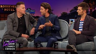 A Couch Full of Music Video Stars (ft. Channing Tatum, Diego Luna & Adam Scott)