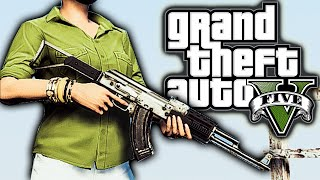 GTA 5 Mods Weekly (PC) #3 - Real Life Graphics, Vehicle Cannon, More Pedestrians