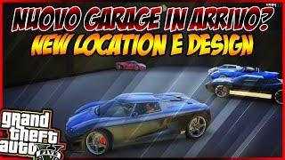 GTA 5 ONLINE ITA - NUOVO GARAGE DA 25 POSTI IN ARRIVO? NEW DESIGN E LOCAZIONE / GTA 5 ITA NEW DLC
