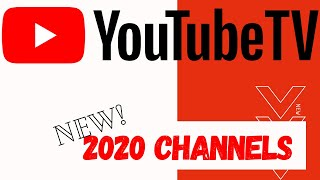 Youtube TV new channels for 2020. Is it worth it?